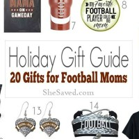 Holiday Gift Guide: Football Mom Gift Ideas