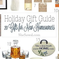 Holiday Gift Guide: Gift Ideas for New Home Owners