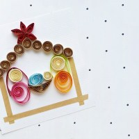 Paper Quilling Christmas Craft: Quilled Nativity