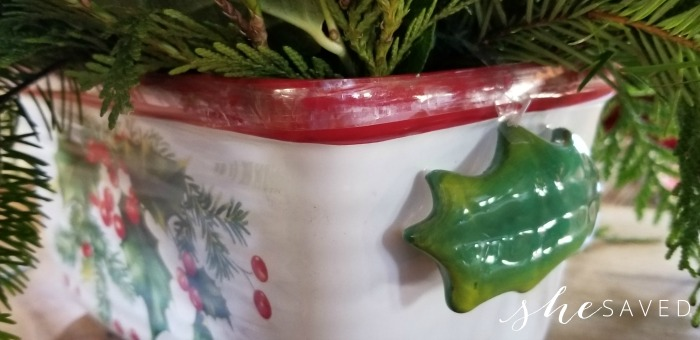 Teleflora Christmas Dish