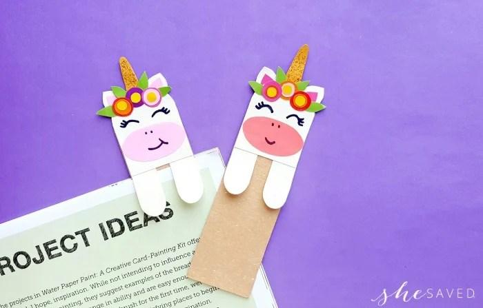 Cutest Unicorn Bookmarks