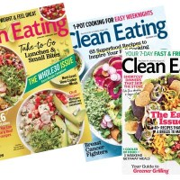 RARE! Clean Eating Magazine for $7.99