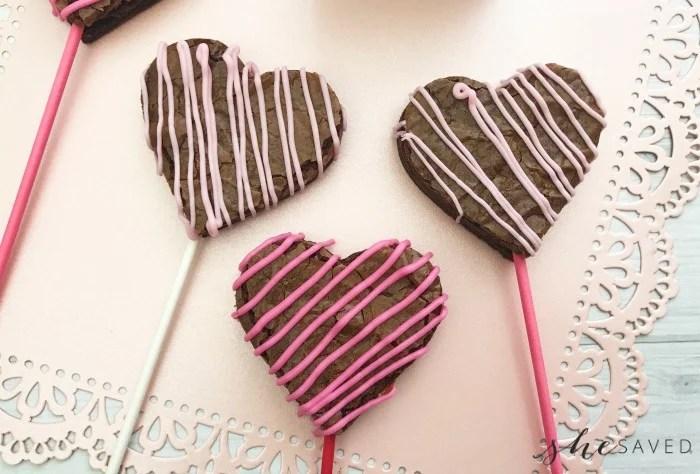 Easy Valentine's Day Brownie