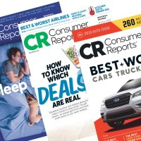Consumer Reports Magazine Subscription for $17.49!