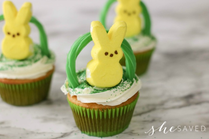 easy Easter cupcake