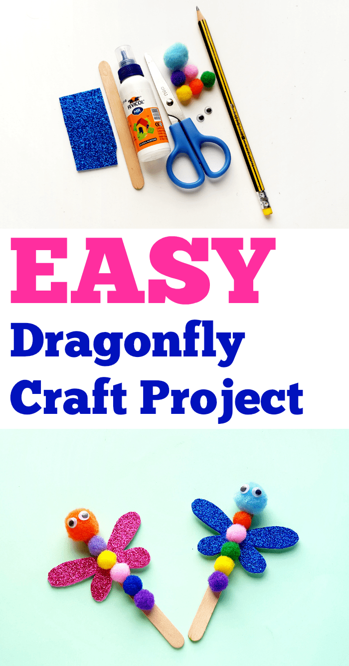 Dragonfly Craft Project