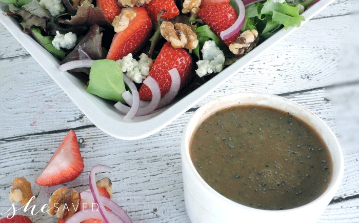 Strawberry Salad and dressing recipe