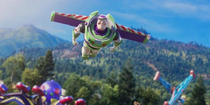 Buzz Lightyear in Toy Story 4
