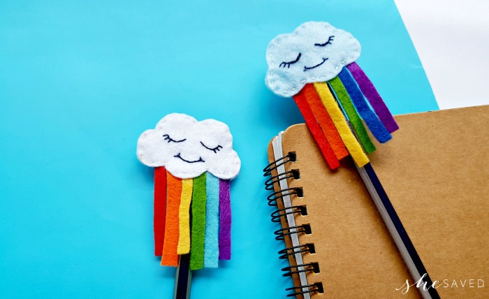 DIY Felt Rainbow Cloud