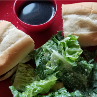 Easy French Dip Sandwiches with Omaha Steaks Brisket