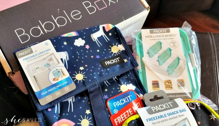 Packit Items in Babble Boxx