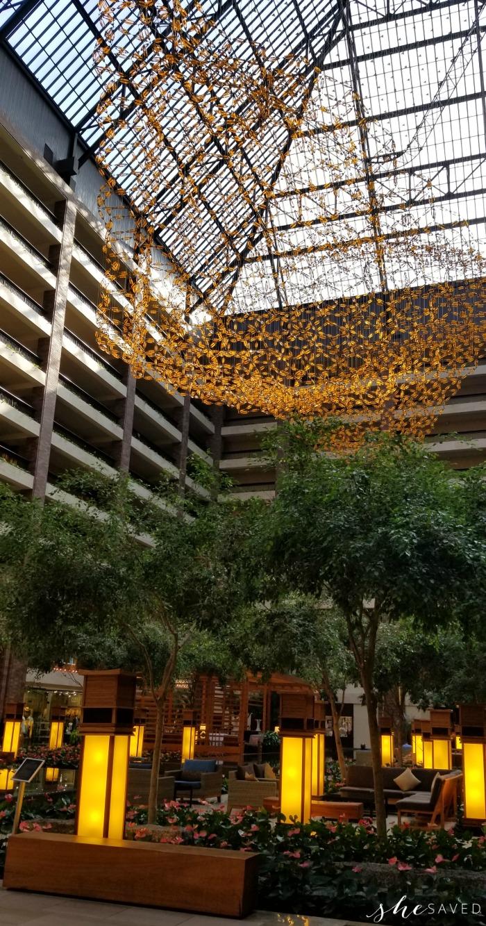 Hilton Anatole Skylight
