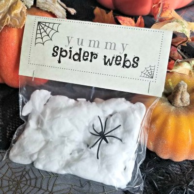 Spider Web Treats