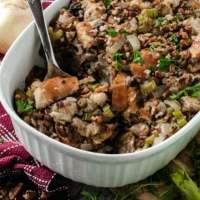 Thanksgiving Recipe: Pecan & Mushroom Stuffing