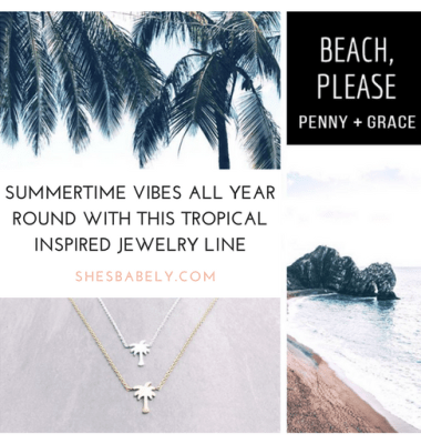 Summertime Vibes All Year Round With This Tropical Inspired Jewelry Line - Penny And Grace - ShesBabely - Jewelry - Tropical - Gold - Silver - Rosegold - Pineapple | www.shesbabely.com