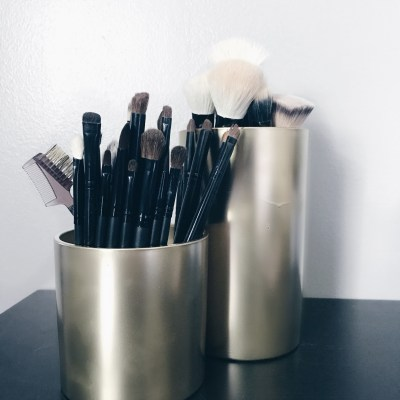 Diy Makeup Brush Jar Archives She S That Girl Guide