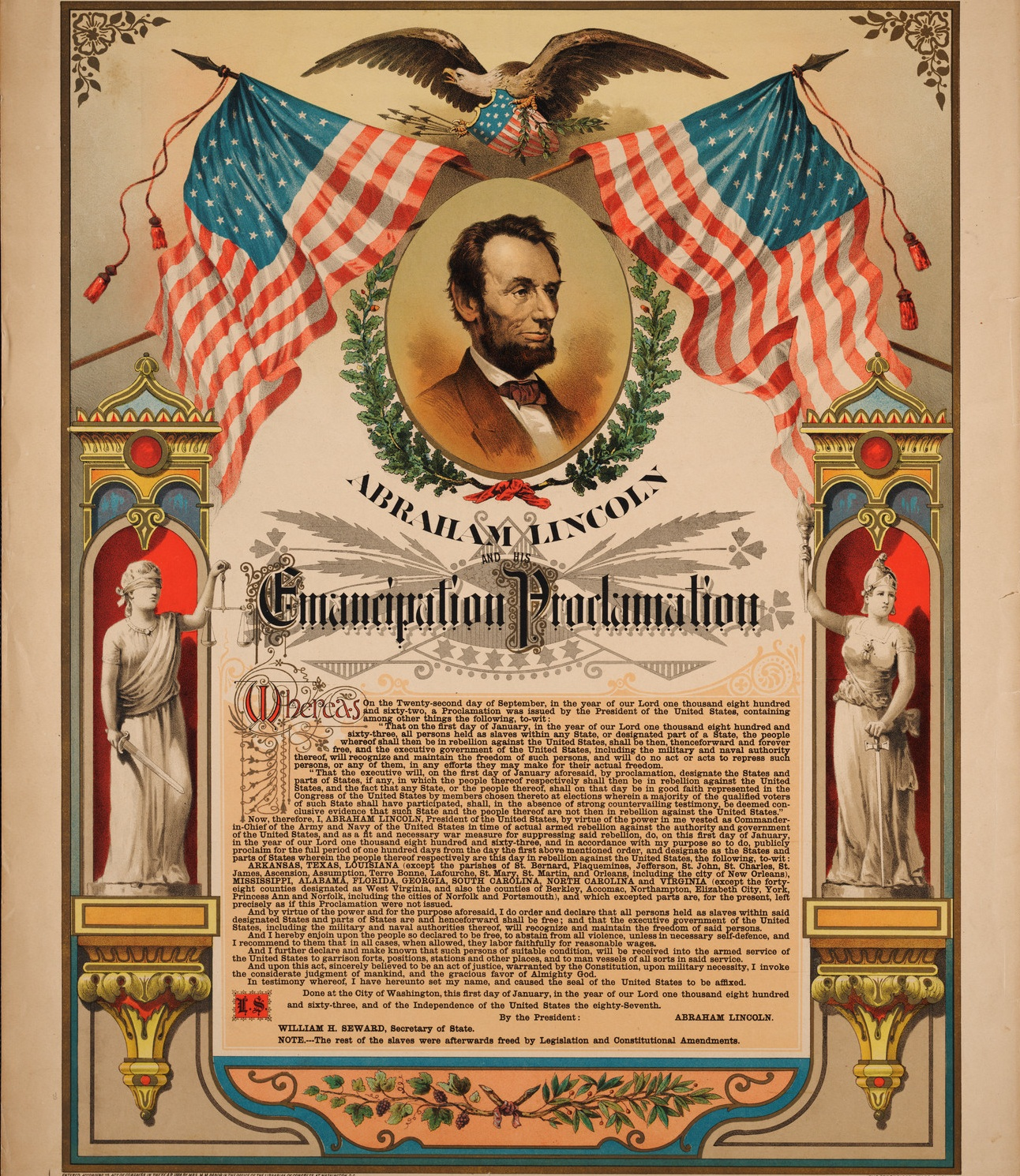 Us Constitution S Thirteenth Amendment Legal Abolition Of