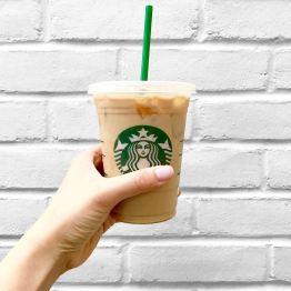 She Sweats Diamonds - Dallas Fashion Blog - About Me - Starbucks iced caramel macchiato - coffee addict - National Coffee Day