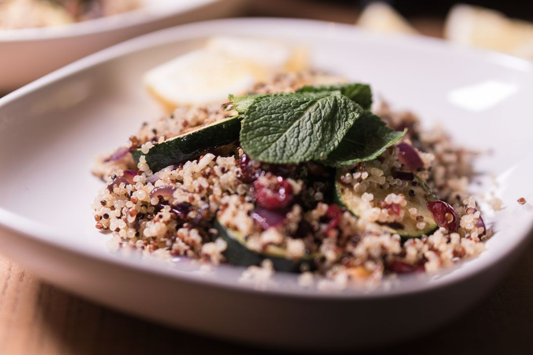 She talks Glam | Quinoa, Pistachio & Cranberry Recipe
