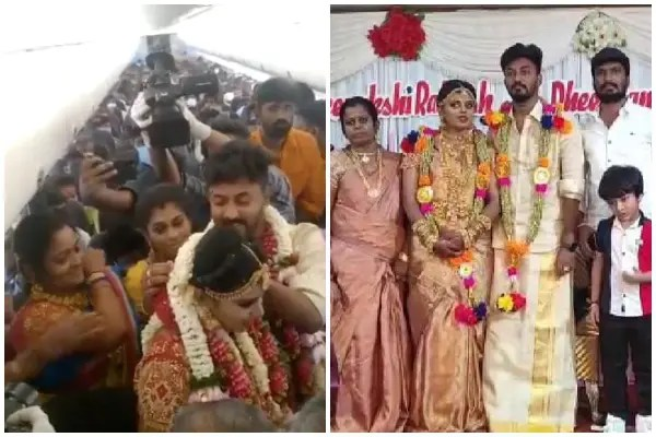 Madurai Couple Gets Married In Plane To Avoid COVID-19 Restrictions