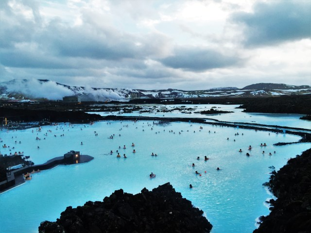<Iceland Blue Lagoon>
