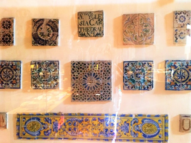 < Andalucian tiles >