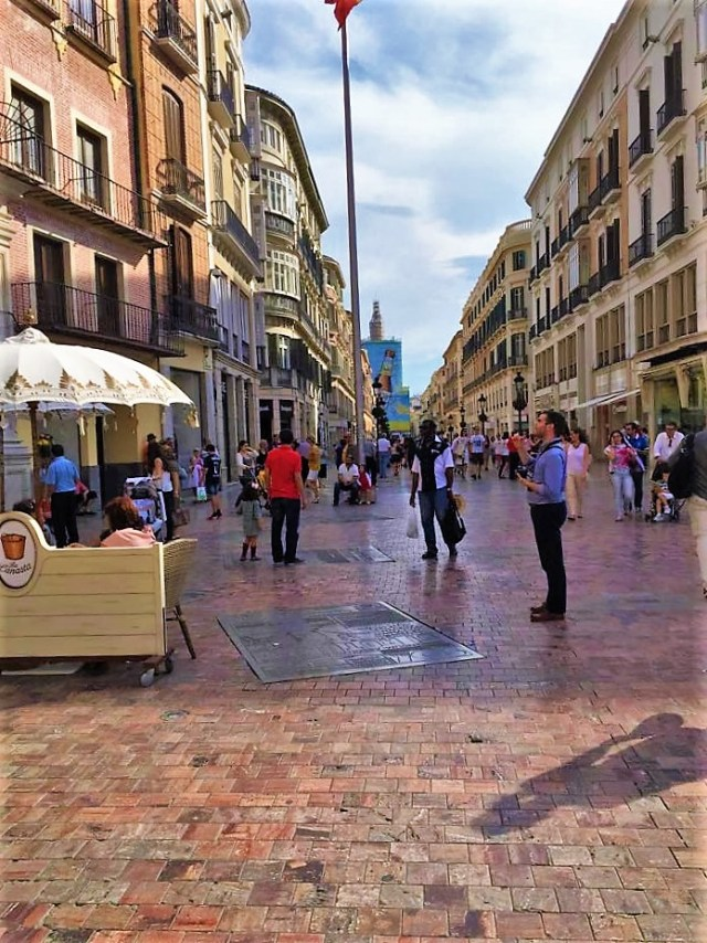 Málaga's historic city center