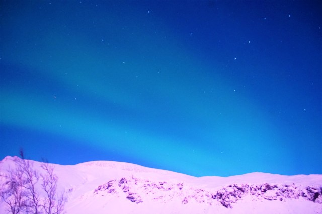 < Northern Lights in Iceland >