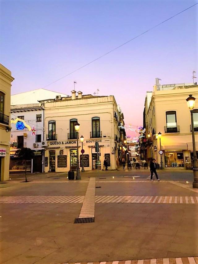 < Ronda Downtown >