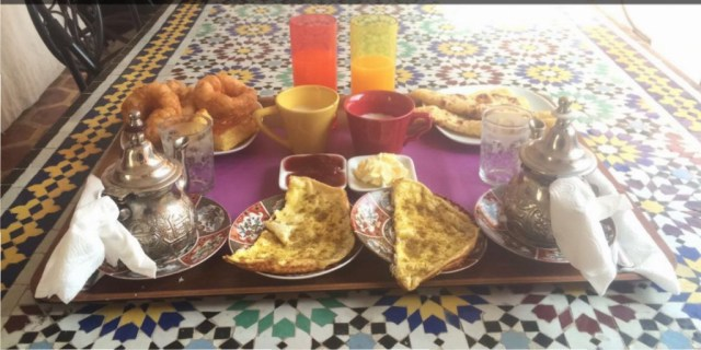 Marrakech Breakfast