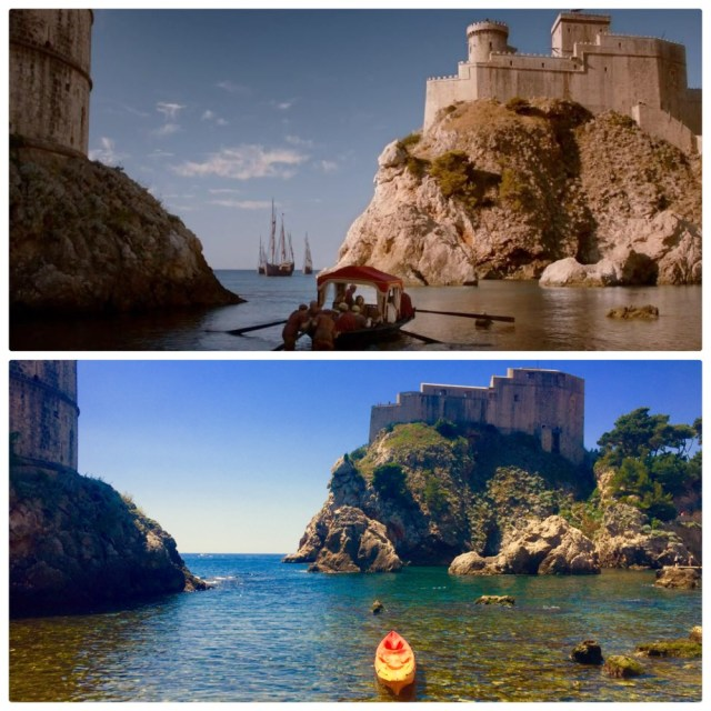 Game of Thrones filmed much of the show in Dubrovnik