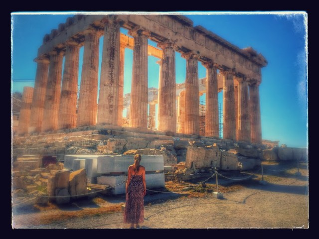 < Visiting the Parthenon is one of my favorite interesting travel stories >