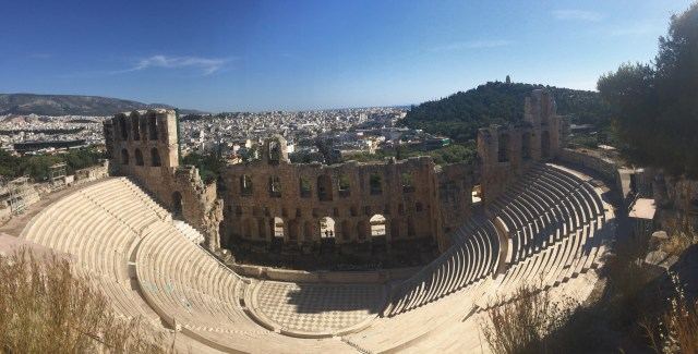 <Athens Odeon of Herodes Atticus>