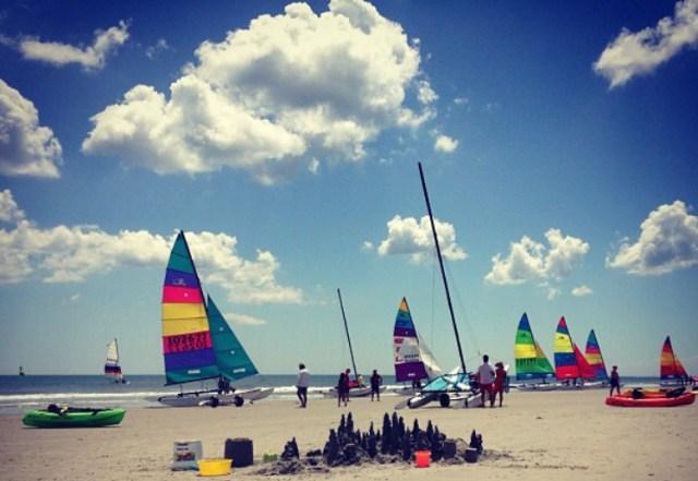 < Stone Harbor Beach >