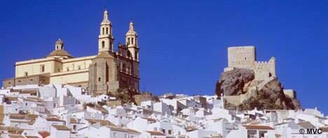 < Things in Spain that aren't common in the U.S.: White villages >