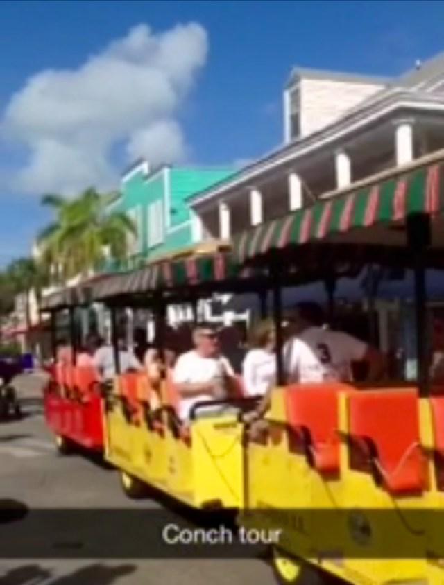 < Conch Trolley >