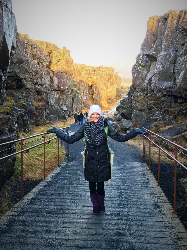 Rifts at Thingvellir National Park
