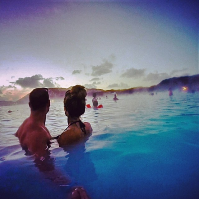The Blue Lagoon is always incredible, but in winter you can watch the sun peek over the horizon, swim in the snow, and maybe catch the Northern Lights