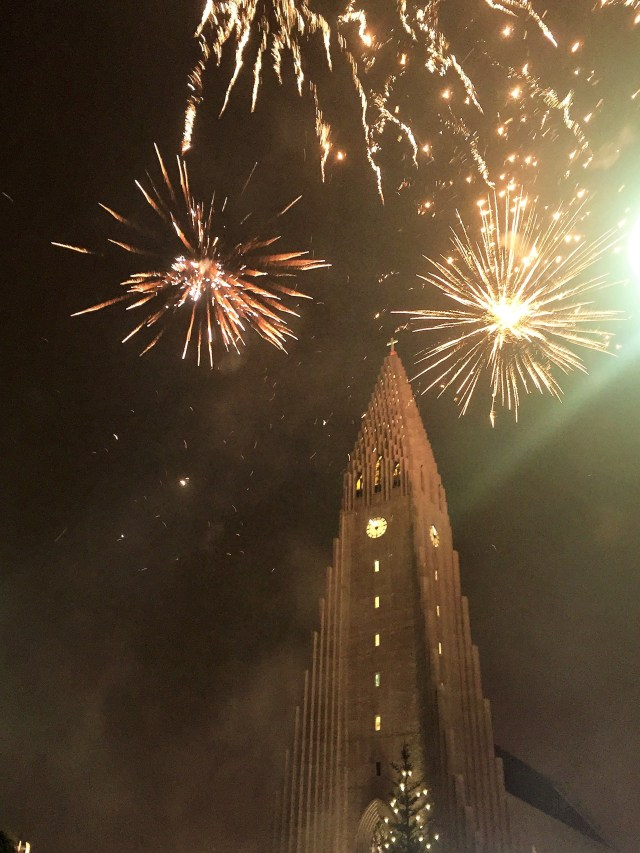 Reykjavik has one of the BEST New Years Eve celebrations I've ever been to