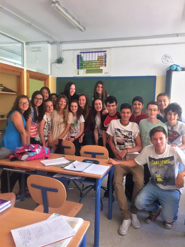 Students in the Schools in Spain