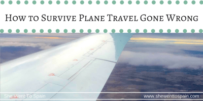 Travel stories can be interesting. Most of the time I don't let mishaps ruin my plans or get me down, but I can understand how someone else might get discouraged enough to stop traveling if some of these things were to happen to them. So here are my stories and tips to survive travel gone wrong.