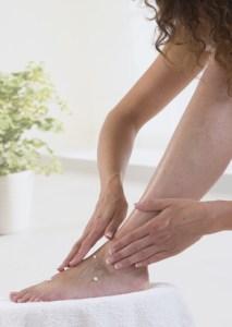 Massage pied Femme