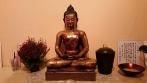 Buddha in der Taoshiatsu-Schule in Wien 1070