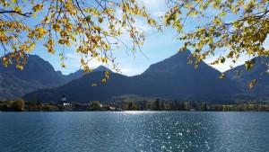 Herbststimmung am Wolfgangsee