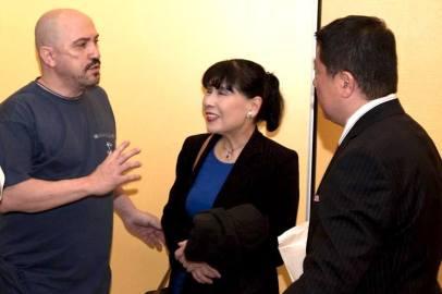 Arturo Valenzuela Sensei con los Maestros Matsuko Namikoshi y Takashi Namikoshi