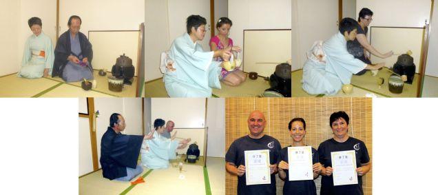 Shiatsu Master en Japón, ceremonia del té