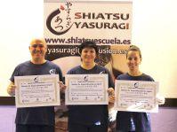 Shiatsu Master Japón, Diploma master