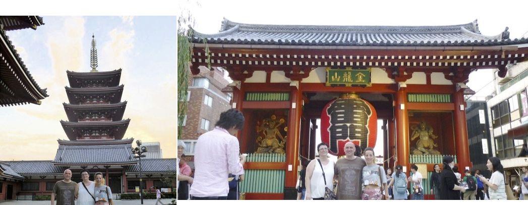 Shiatsu Master en Japón, templo Sensoji