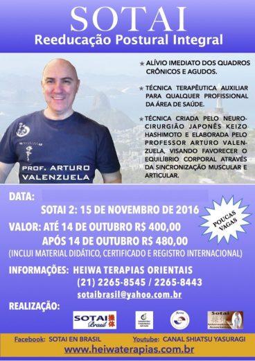 Sotai Curso Internacional Rio de Janeiro Brasil Nivel 2