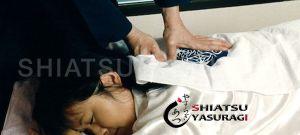 Fotos Shiatsu. Aplicacion de shiatsu